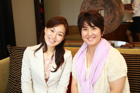立石さんと森咲子